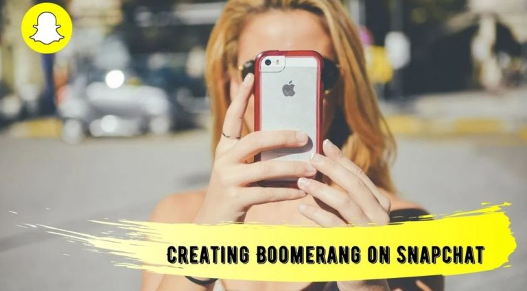 How To Do a Boomerang (Bounce) on Snapchat?