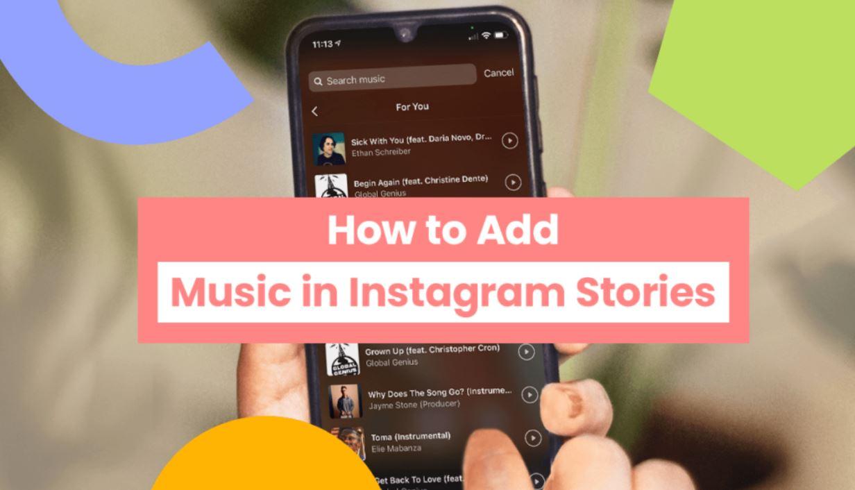 Add Music on Instagram