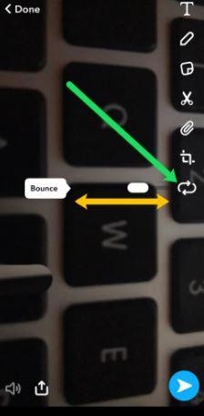 Boomerang on Snapchat