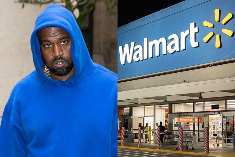 Kanye West Sues Walmart for Selling Knockoff Yeezy Sneakers