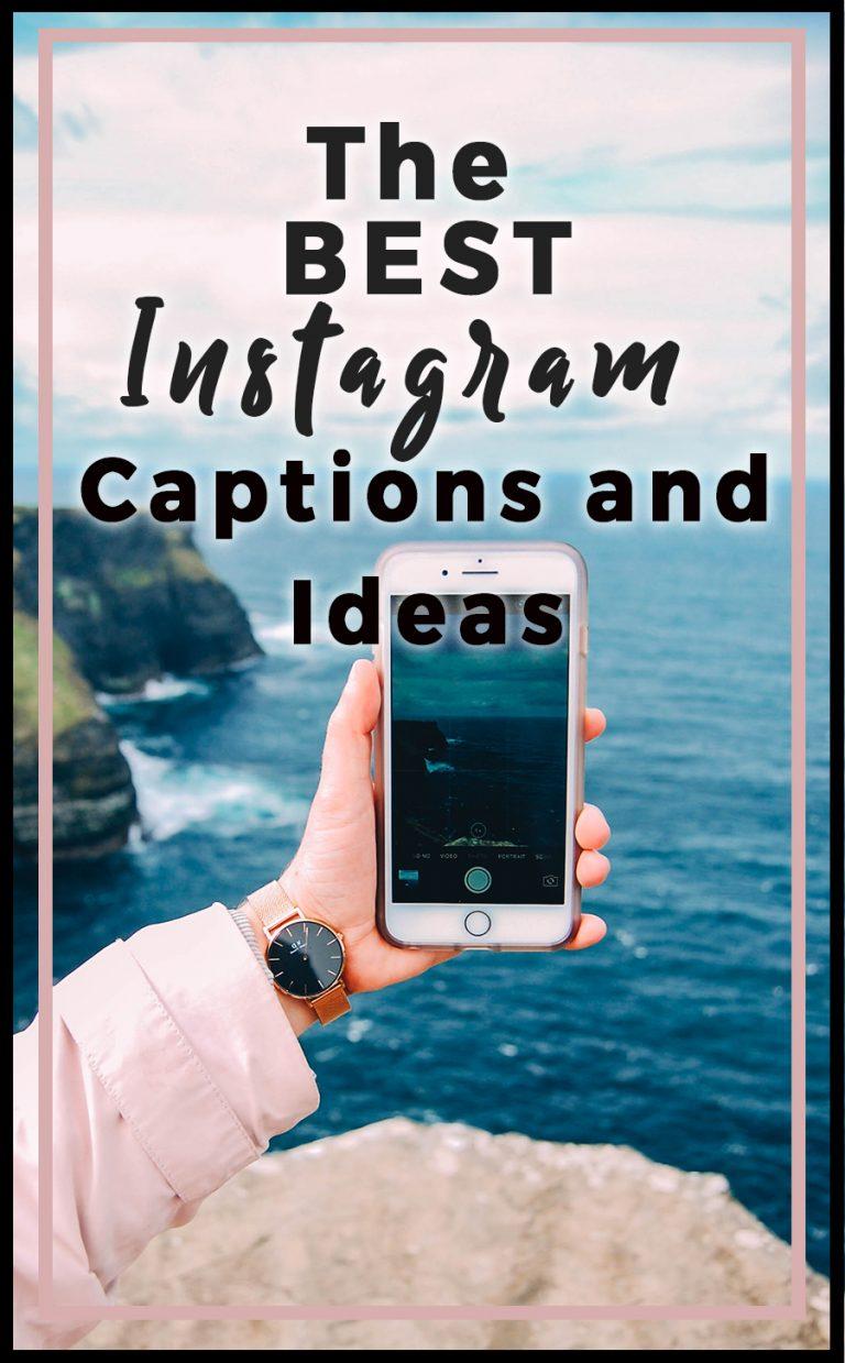 Best Instagram Captions: 700 Cool, Funny & Unique Ideas