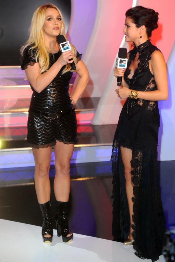 Selena Gomez and Britney Spears