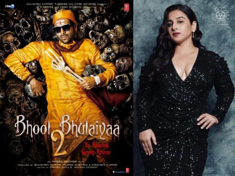 Vidya Balan Opens Up on Bhool Bhulaiyaa 2