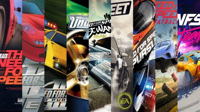 All Need For Speed Games in Order