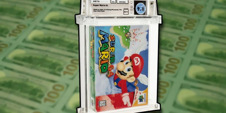 Sealed Copy of Super Mario 64 Sold for $1.5 Million at Heritage Auctions
