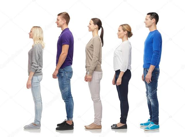 Average Male and Female Height Worldwide