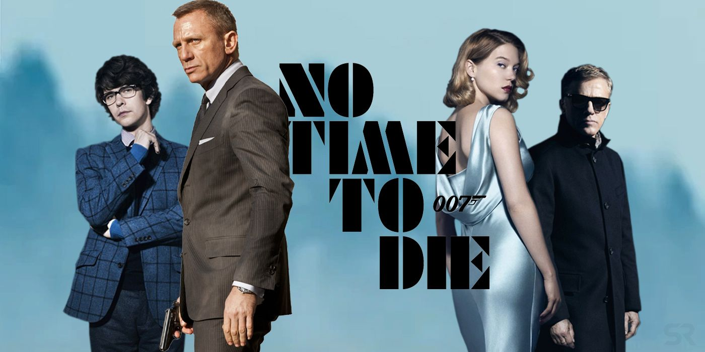 No Time to Die 2021 banner HDMoviesFair