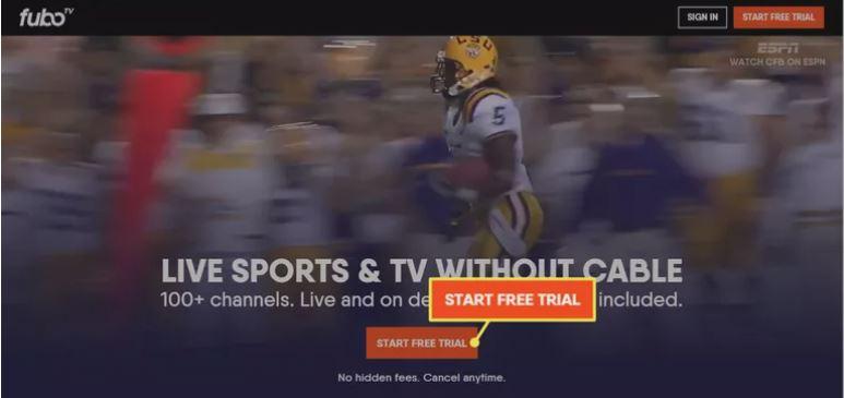 Fubo TV Free trial