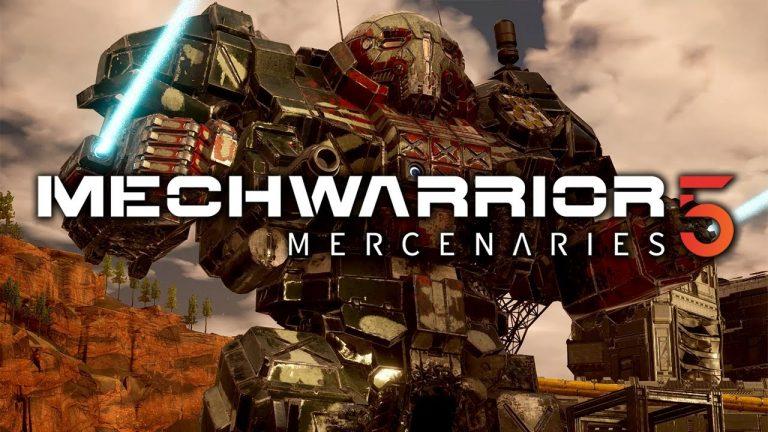 MechWarrior 5: Mercenaries Release Date and Trailer