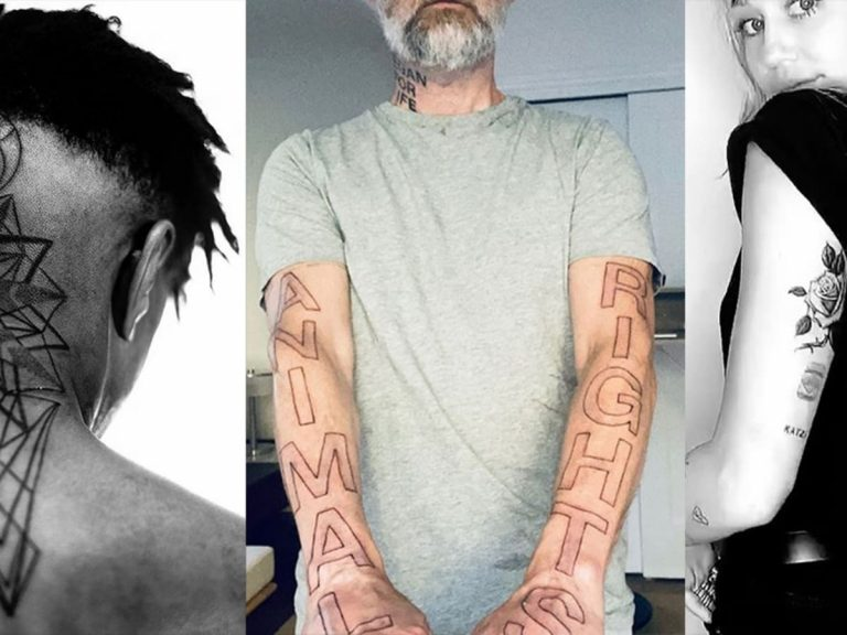 15 Worst Celebrity Tattoos That are Just Embarrassing