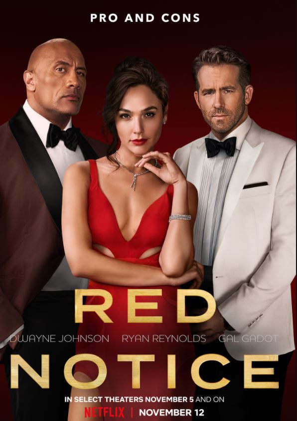 Trailer Drop: Red Notice Comes To Netflix on November 12th