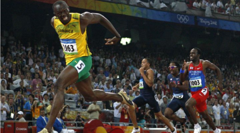 Usain Bolt Top Speed, Records and Titles