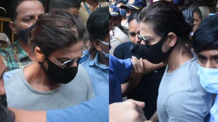 Shah Rukh Khan Meets Aryan Khan in Arthur Road Jail of Mumbai